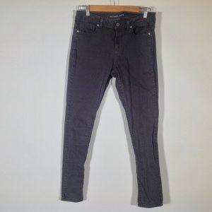 Michael Kors Skinny Jeans Womens 4 Gray